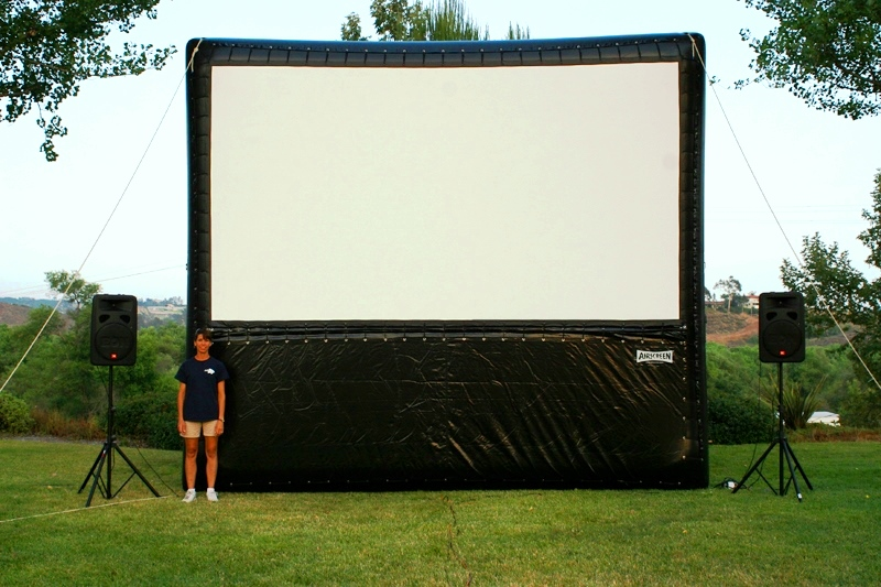 Size Overview Airscreen Outdoor Movie Screens Creators Of World S Largest Inflatable Screens