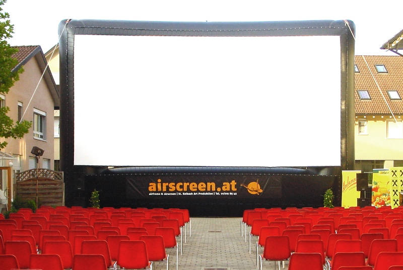 Size overview - AIRSCREEN – Outdoor Movie Screens – Creators of ...
