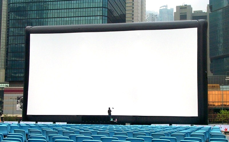 Size Overview Airscreen Outdoor Movie Screens