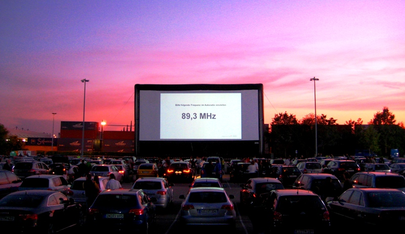 Drive In Cinema Airscreen Outdoor Movie Screens