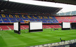 4 inflatable screens in Camp Nou stadium (Barcelona)