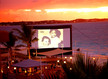 outdoor movies in the Caribbean