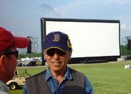 "Frank Mazzola (""East of Eden"", ""Rebel Without a Cause"") at James Dean Fest in Marion, IN"